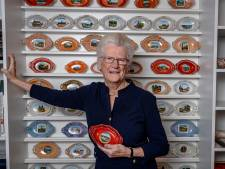 Al 35 jaar beurzen afstruinen: 'het begon met porseleinen bonbonschaaltjes'