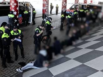 32 relschoppers die elkaar bij de Ikea in Delft troffen weer op vrije voeten, mét proces-verbaal