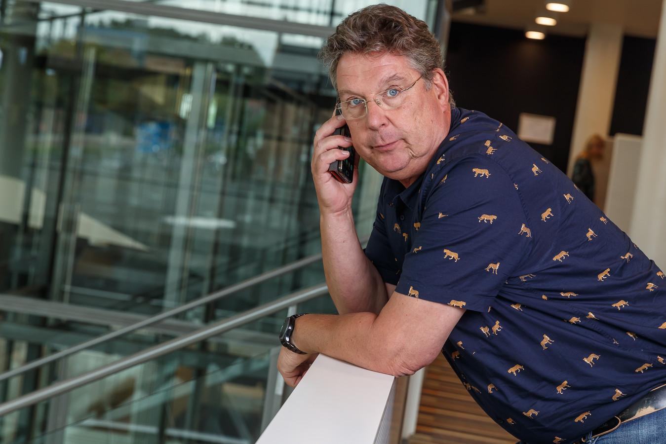Journalist Henk den Ridder