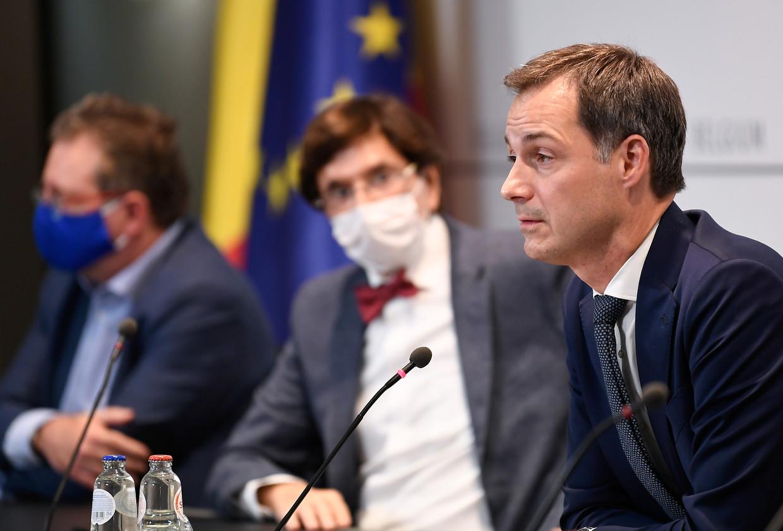 Premier Alexander De Croo (Open Vld). Beeld REUTERS