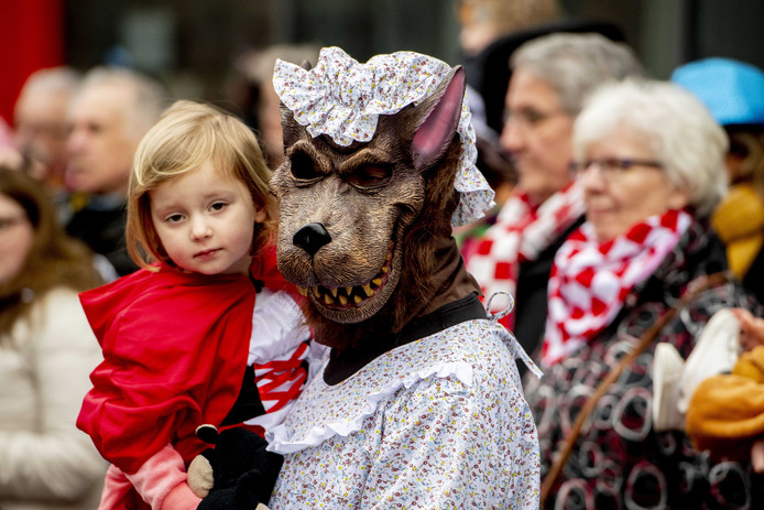 Een archieffoto van carnaval.