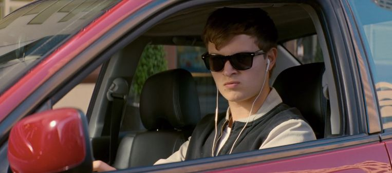 Ansel Elgort in Baby Driver (Edgar Wright, 2017). Beeld null