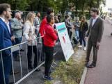 Studenten voeren actie op Prinsjesdag