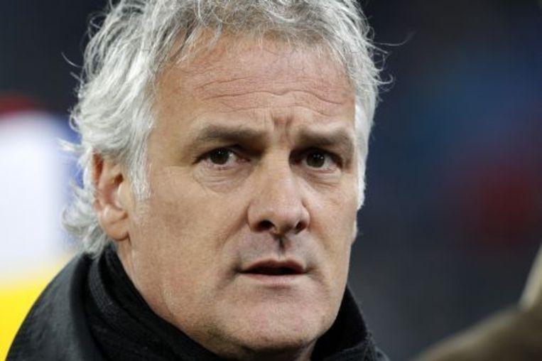 Trainer Fred Rutten van PSV zegt begrip te hebben voor de negatieve reacties van een deel van de supporters op de komst van Andy van der Meyde. ANP Beeld