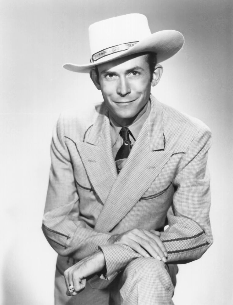 UNSPECIFIED - CIRCA 1970:  Photo of Hank Williams  Photo by Michael Ochs Archives/Getty Images Beeld getty