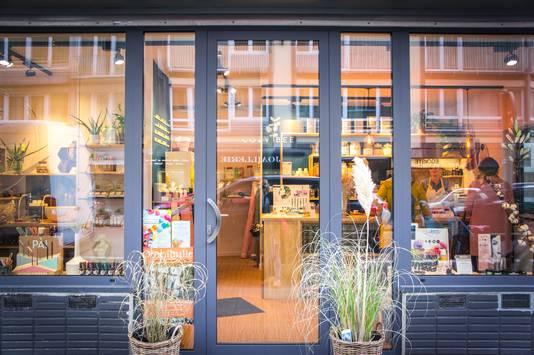 La boutique a ouvert en septembre, dans la rue Charles Magnette.