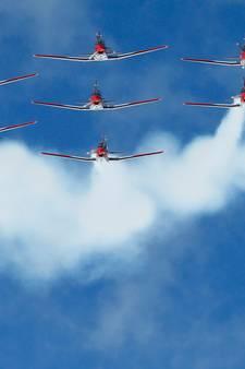 VIDEO: Skycam valt te pletter op skiparcours WK