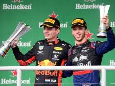 Verstappen wint bizarre GP, Ferrari's klappen op elkaar