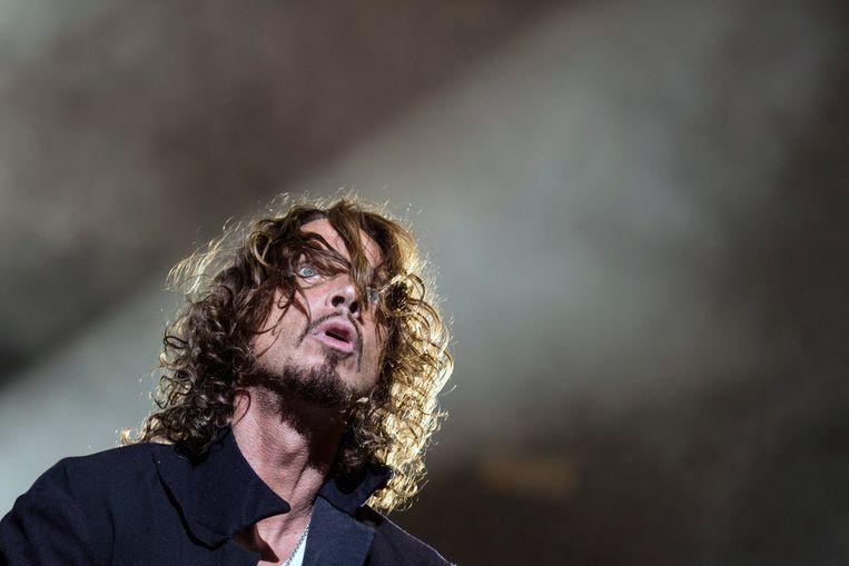 Soundgarden-zanger Chris Cornell in 2014. Beeld EPA