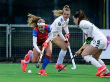 Hockeysters SCHC verliezen eerste duel van Amsterdam in halve finale play-offs