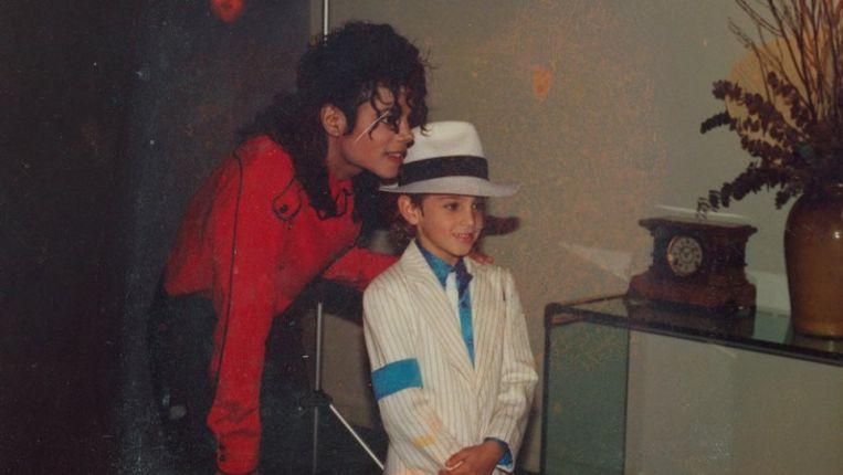 Michael Jackson. Beeld rv