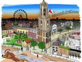Minder winkels, kleinere huizen en je kunt zwemmen in de gracht: welkom in het Utrecht van het jaar 2040