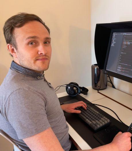 Léon is data-analist: 'Deze baan past goed bij me, ik ben vrij precies'