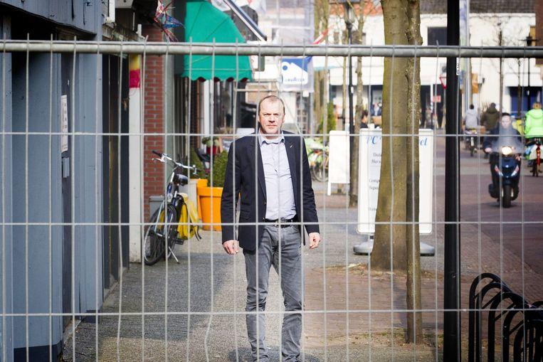 Marcel Evers van brancheorganisatie Inretail: 'Leegstand, verpaupering, lelijke hekken... Bij de gemeenten moet de knop echt om.' Beeld Jeroen Jumelet
