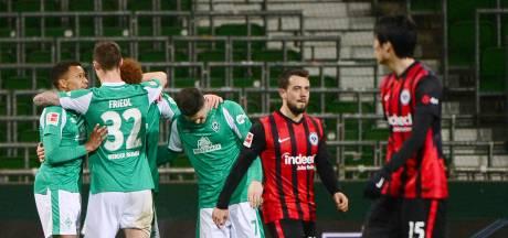 Werder beëindigt zegereeks Eintracht Frankfurt