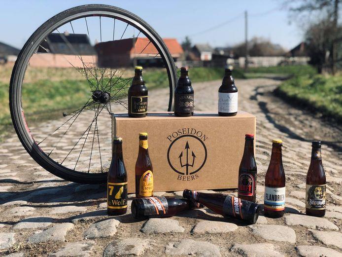 Nieuw in het aanbod is de Flandrien-box: een bierbox met tien bieren, volledig gelinkt aan het parcours van de Ronde Van Vlaanderen.
