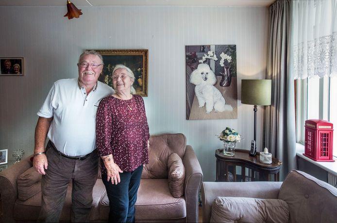 Koos en Fanny van Reisingen zijn al jaren gelukkig in de Ster-flat aan de Lozerlaan.