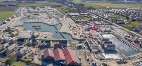 Nieuw vakantiepark Veerse Kreek bij Wolphaartsdijk krijgt steeds meer vorm