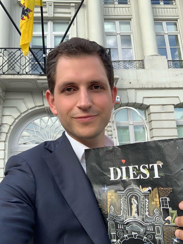 Maurits Vande Reyde brengt 'Diestse kadoosjes' mee naar de onderhandelingen voor een nieuwe Vlaamse Regering