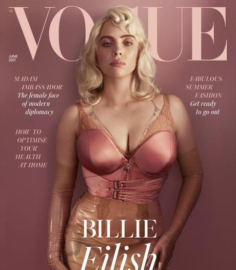 """Billie Eilish pose en lingerie pour Vogue: """"Je fais ce que je veux"""""""
