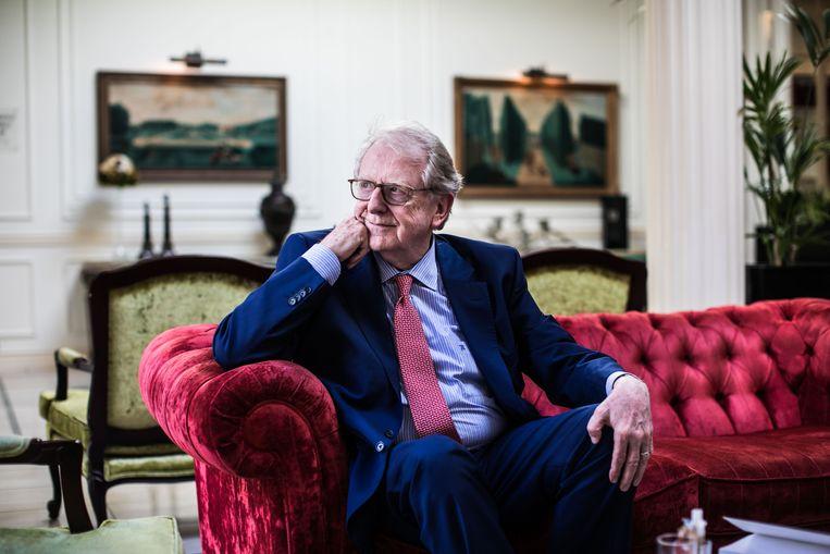 Georges Ugeux: 'We moeten ons voorbereiden op een diepe recessie.' Beeld Bas Bogaerts