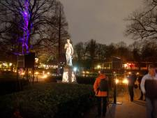 Lichtkunstfestival voor zesde keer gehouden in Julianapark