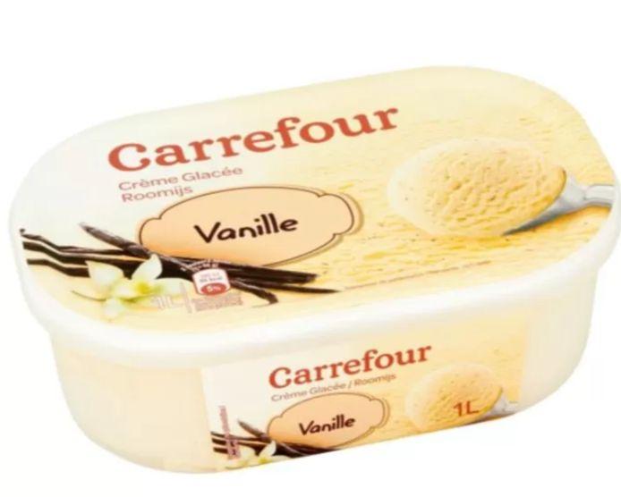 La chaîne Carrefour a retiré de la vente et rappelle des crèmes glacées à la vanille de sa propre marque en raison d'une teneur trop élevée en résidus d'oxyde d'éthylène.