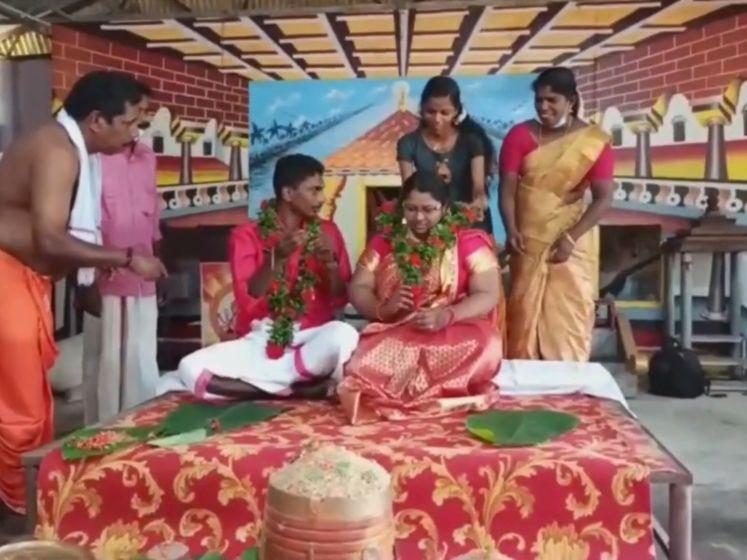 Huwelijksceremonie van Indisch koppel neemt onverwachte wending