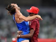 Ils se tombent dans les bras en décidant de se partager la médaille d'or: leur réaction fait le tour de la Toile