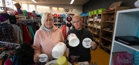 Donatiepotten leeggeroofd bij Weggeefschuur IJsselmuiden