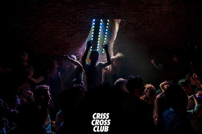 Een sfeerbeeld van Criss Cross Club, in de raadskelder van het historisch stadhuis, vier jaar geleden