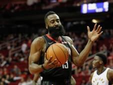 Harden loodst Rockets langs Pacers