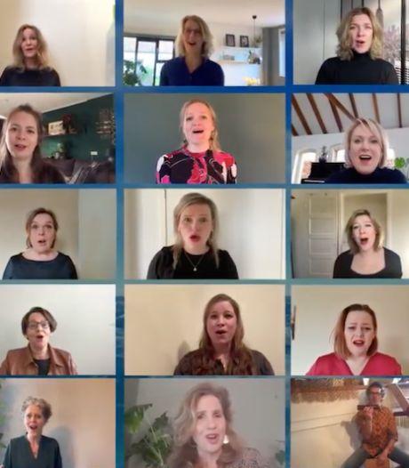 Gorssels koor No Romeo's zorgt met digitaal liefdeslied voor extra sfeer op Valentijnsdag