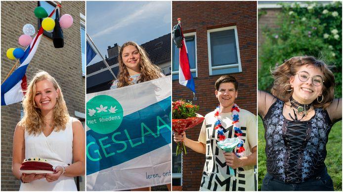 Deze scholieren uit de regio Arnhem hebben hun diploma binnengehengeld