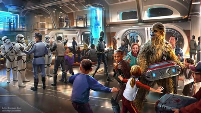 Overnachten in het langverwachte Star Wars-hotel van Disney heeft een 'buitenaards' prijskaartje