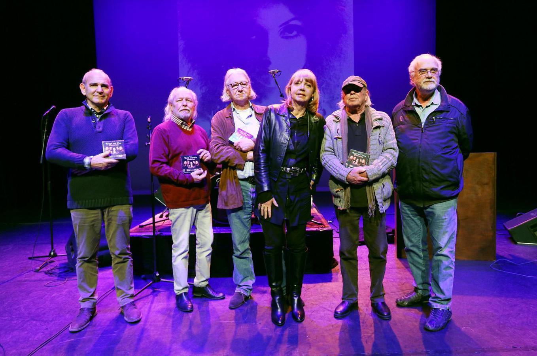 Jerney Kaagman was vanavond ook bij de presentatie van de 10-delige cd-box met het totale oeuvre van Earth and Fire.