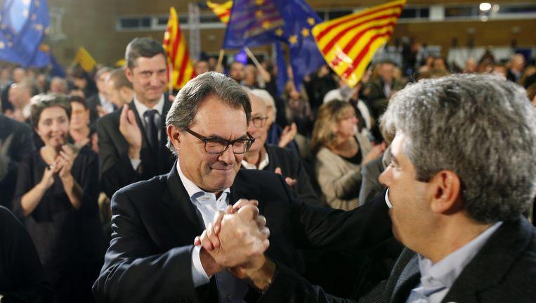 Artur Mas op campagne Beeld null