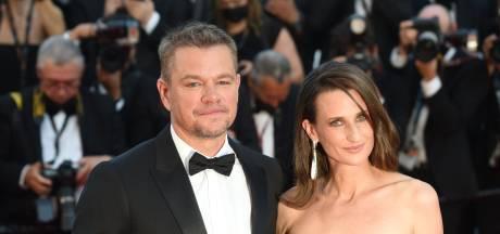 Matt Damon et Camille Cottin, duo complice et inattendu du Festival de Cannes