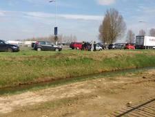 Kop-staartbotsing op A326 in Wijchen