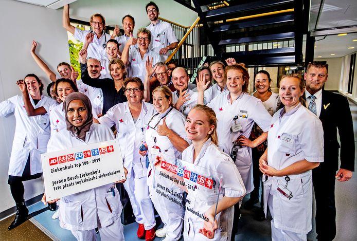 Het Jeroen Bosch Ziekenhuis, voor de tweede keer op een rij het beste topklinische ziekenhuis van Nederland.
