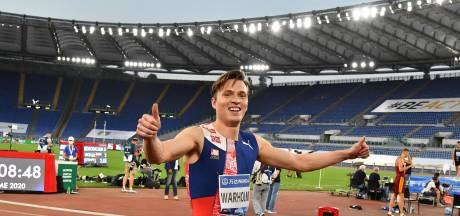 Noor Warholm breekt wereldrecord op 400 meter horden