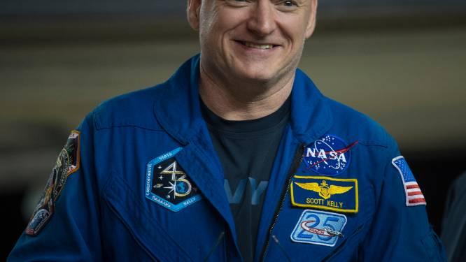 Astronaut Scott Kelly is 5 cm groter na jaar in de ruimte