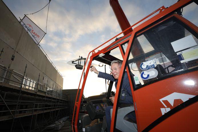 Archieffoto van Piet van der Maas, bestuurder ZorgSaam.