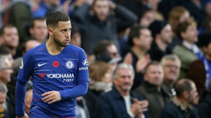 Eden Hazard bijt tanden stuk op Everton, Chelsea geraakt niet verder dan scoreloze draw