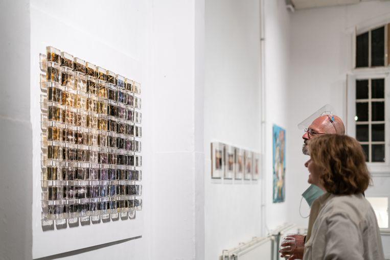 Expositie The Observer Effect, met werk van Matt Chaim de Groot en Joran van Soest, 2020. Beeld Jonathan de Waart