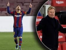 Koeman na ophef over Messi-salaris: 'Contractdetails zijn gelekt met slechte intenties'