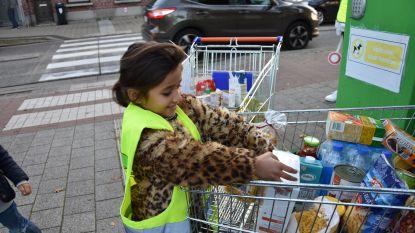 Warmste school van Vlaanderen ligt in Sint-Job: winkelkarren vol eten ingezameld voor minderbedeelden
