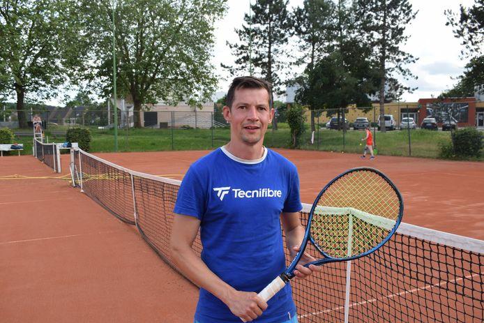Kristof Carré werd in een vorig voetballeven nog kampioen met Lubbeek en Binkom in derde provinciale.