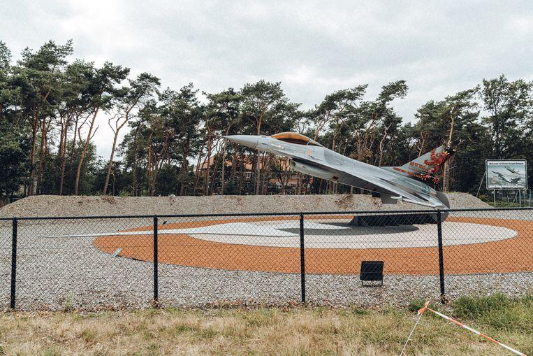 De luchtmachtbasis in Kleine Brogel. Beeld Thomas Sweertvaegher