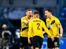 Ondanks saai voetbal meldt NAC zich in promotiestrijd
